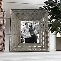 Galvanized Punch Picture Frame, 8x10