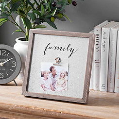 Galvanized Metal Family Clip Frame, 4x6