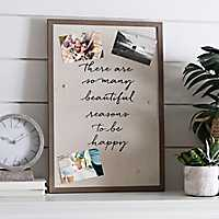 Magnetic Linen Board Collage Frame