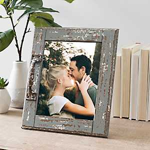 Rustic Picture Frame with Decorative Handle, 8x10
