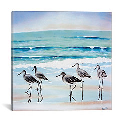 Five Birds Canvas Art Print