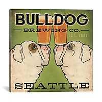 Bulldog Brewing Co. Canvas Art Print