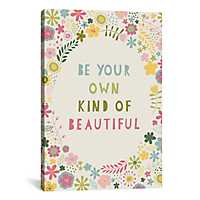 Own Kind of Beautiful Canvas Art Print