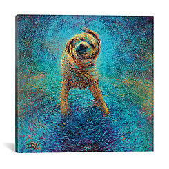 Shakin' Off the Blues Canvas Art Print
