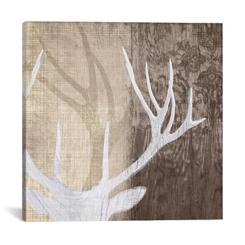 Deer Lodge Canvas Art Print