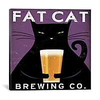 Fat Cat Brewing Company Canvas Art Print