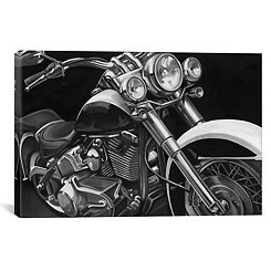 Classic Hogs Canvas Art Print