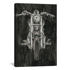 Steel Horse Canvas Art Print