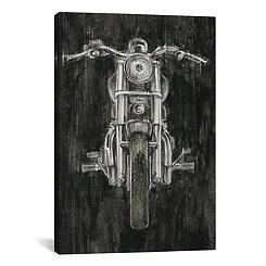 Steel Horse Canvas Art Print