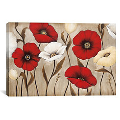 Collective Florals Canvas Art Print