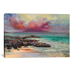 Harris Rocks Canvas Art Print