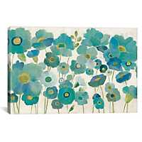 Floral Lace Canvas Art Print
