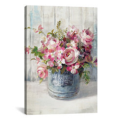 Garden Blooms Canvas Art Print