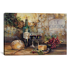 Le Chateau Canvas Art Print
