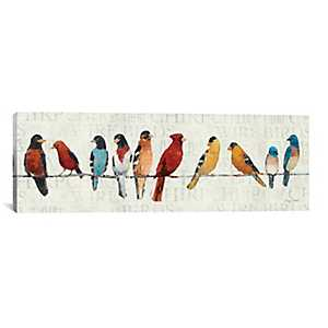 The Usual Suspects Canvas Art Print
