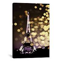 Paris Icon Eiffel Tower Canvas Art Print