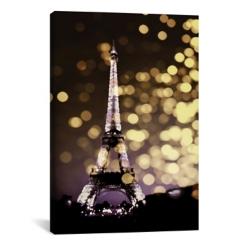 Paris Icon Eiffel Tower Canvas Art Print