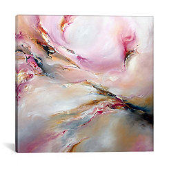 Pink Haze Canvas Art Print