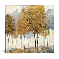 Metallic Forest Canvas Art Print