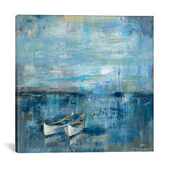 Two Boats Canvas Art Print