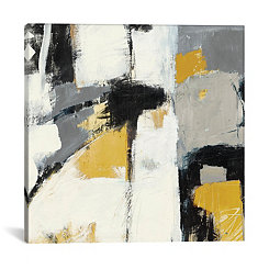 Yellow Catalina Canvas Art Print