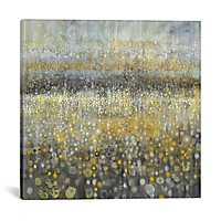 Rain Abstract Canvas Art Print