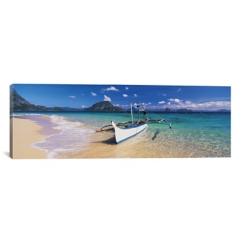 Fishing Boat Canvas Art Print