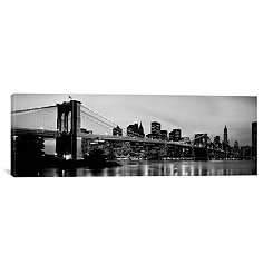 Brooklyn Bridge Canvas Art Print