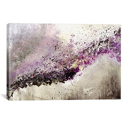 Hush Abstract Canvas Art Print