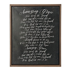 Amazing Grace Framed Canvas Print