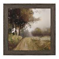 Backroad Landscape Framed Art Print