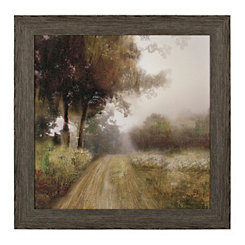 Backroad Landscape Framed Art Print