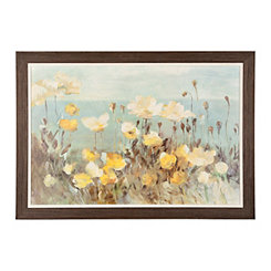 Fields of Yellow Framed Art Print