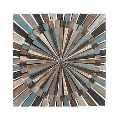 Color Wheel Wooden Wall Plaque