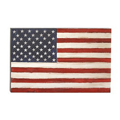 United States Flag Canvas Art Print