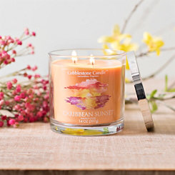 Caribbean Sunset Jar Candle