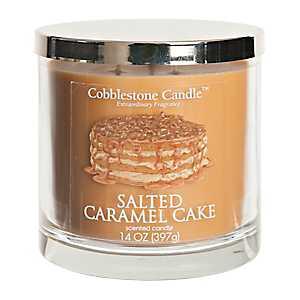 Salted Caramel Cake Jar Candle