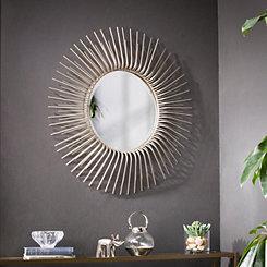 Oversized Sunburst Wall Mirror