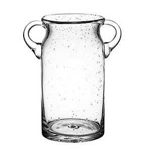 Bubble Glass Ice Bucket with Handles