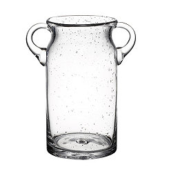 Bubble Glass Ice Bucket with Handles