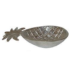 Silver Pineapple Platter