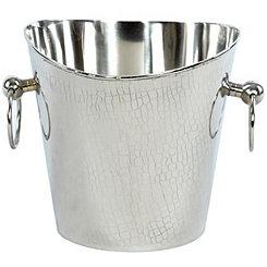 Crocodile Stainless Steel Champagne Bucket