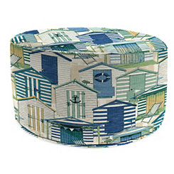 Pool Beach Huts Round Outdoor Pouf