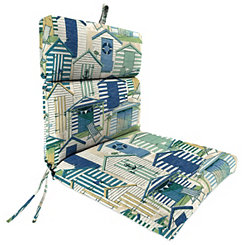 Pool Beach Huts Chaise Outdoor Lounge Cushion