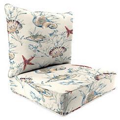 Daytrip Sailor 2-pc. Outdoor Chair Cushion Set