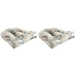 Daytrip Outdoor 18 in. Seat Cushions, Set of 2