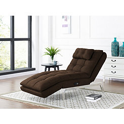 Jackson Brown Convertible Chaise Lounger