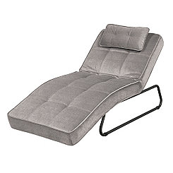 Cameron Gray Convertible Chaise Lounge