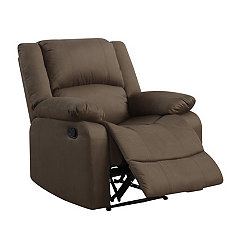 Kaylee Brown Microfiber Recliner