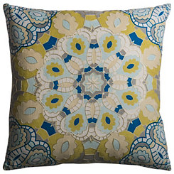 Multicolor Medallion Pillow